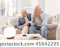 couple, senior, support 45642205