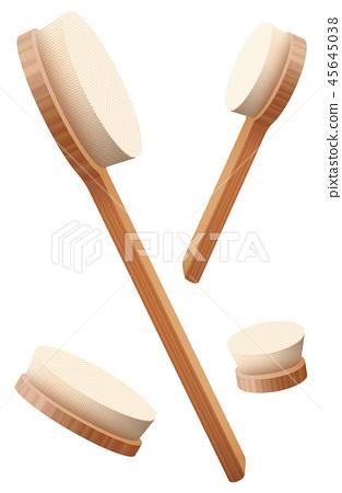Body Brushes Loosely Arranged Massage Set 45645038