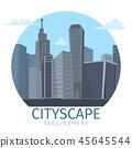 城市 城市风光 城市景观 45645544