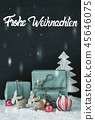 Decoration, Frohe Weihnachten Mean Merry Christmas 45646075