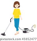 집안일 진공 청소기 절벽 45652477