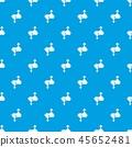 Love male female pattern vector seamless blue 45652481