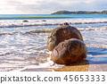 Moeraki Boulders In Beach Surf On Otago Coast 45653333