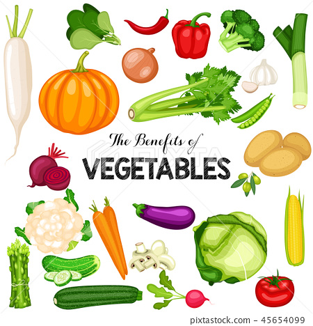 Health benefits of vegetables 45654099