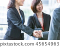 企業談話商人企業場面辦公室場面 45654963