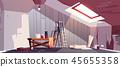 attic, renovation, repair 45655358