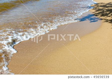 海水沙滩 45656539