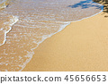 海水沙灘 45656653
