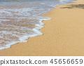 海水沙灘 45656659