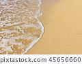 海水沙灘 45656660