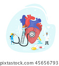 Heart treatment concept. 45656793