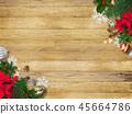 背景木五谷圣诞节装饰品 45664786