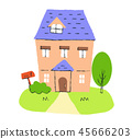 บ้านแฝด,บ้าน,น่ารัก 45666203
