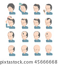 남자 머리의 고민 탈모 대머리 머리 숱 패턴 45666668