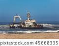 Shipwreck Zeila - Skeleton Coast, Namibia Africa 45668335