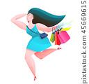 woman, female, bags 45669615