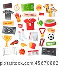 soccer football symbol 45670882