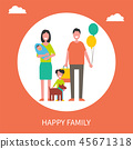 family, poster, happiness 45671318