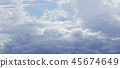 soft clouds above the the clouds background 45674649