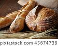 천연 효모 빵 45674739