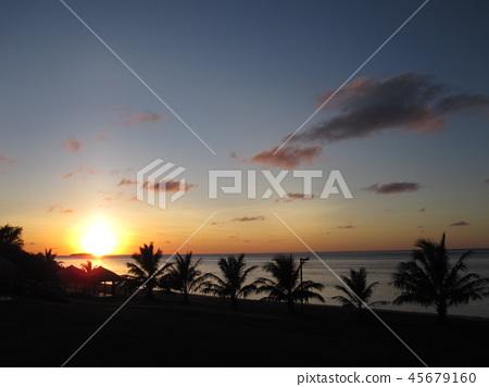 Sunset in Saipan 45679160