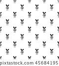Medal pattern vector seamless 45684195