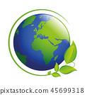 earth, leaf, globe 45699318