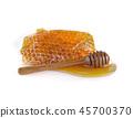 Honey  isolated on white background. 45700370