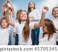 children friends group 45705345