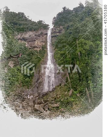 Nachi's waterfall 45705380