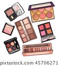 cosmetic, lipstick, vector 45706271