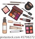 cosmetic, lipstick, mascara 45706272