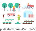set, farm, agriculture 45706622