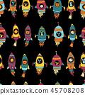 vector cartoon background 45708208