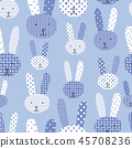 design, bunny, rabbit 45708236