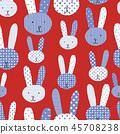 design, bunny, rabbit 45708238