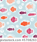 pattern, sea, seamless 45708263