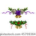 bell xmas ribbon 45709364