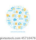 เว็บ,ข้อมูล,เมฆ 45710476