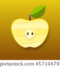 fruit apple vector 45710479