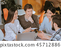 team business coworking 45712886