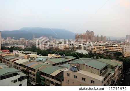 The second city of Taiwan, the city area of Kaohsiung 45713972