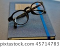 สมุดบันทึก,แว่นตา 45714783