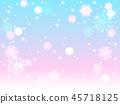 雪花也背景 45718125
