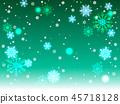 雪花也背景 45718128