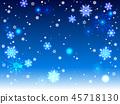 雪花也背景 45718130