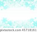 雪花也背景 45718161