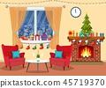 fireplace interior room 45719370