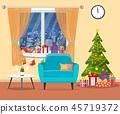 christmas, tree, gift 45719372