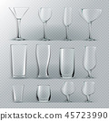 glass vector alcohol 45723990